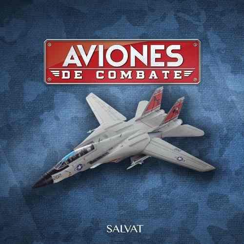 Aviones De Combate Salvat # 14 F - 14 Tomcat Nuevo Sellado