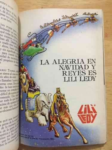 Catálogo De Juguetes Lili Ledy Selecciones Diciembre 1981