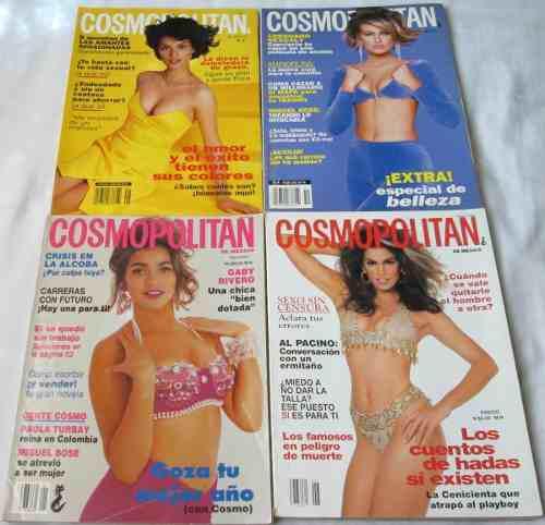 Cosmopolitan. Lote De 4 Revistas. Belleza, Salud