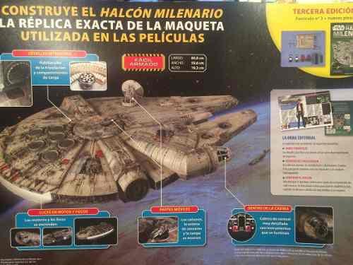 Halcón Milenario Colección Para Armar