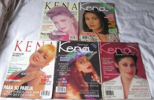Kena, Lote De 10 Revistas De Los 80´s. Maria Sorte,