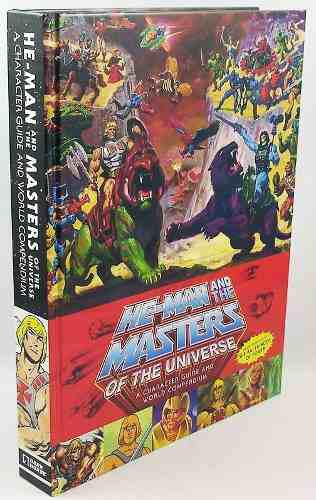 Libro He Man And The Masters Of The Universe Character Guide