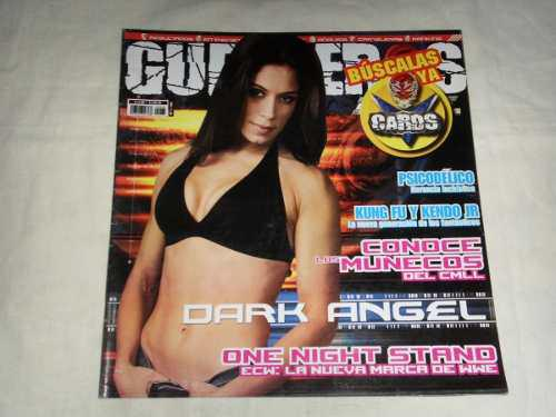 Lucha Libre Guerreros Del Ring Revista Dark Angel