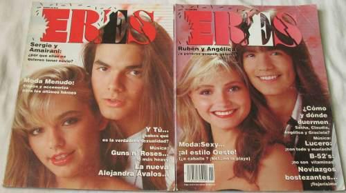 Menudo, En Lote De 2 Revistas Eres