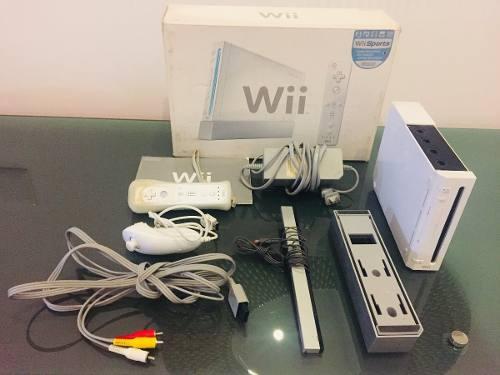 Nintendo Wii, Con Todos Sus Accesorios, En Muy Buen Estado!!
