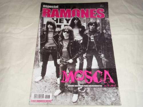 Ramones Revista La Mosca En La Pared Especial