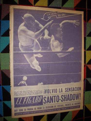 Revista La Lucha Del Año Santo - Shadow 1953 !