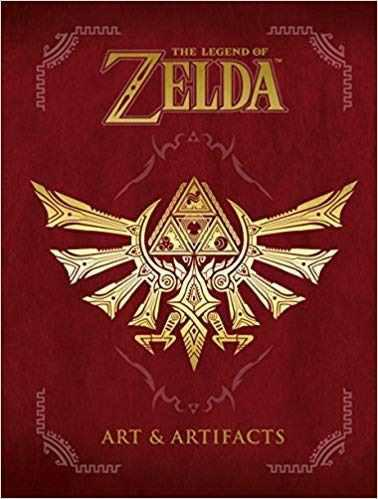 The Legend Of Zelda: Art & Artifacts Pasta Dura Envío