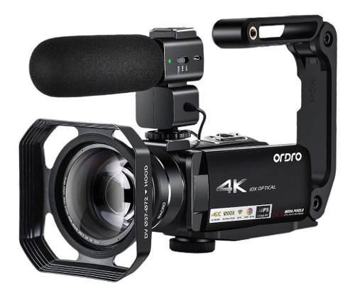 4k Videocámara Ordro Hdr-ac7 Uhd 4k Videocámara 10x Zoom