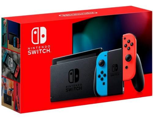 Consola Nintendo Switch 32gb Nueva Had-s-ka Hac-)