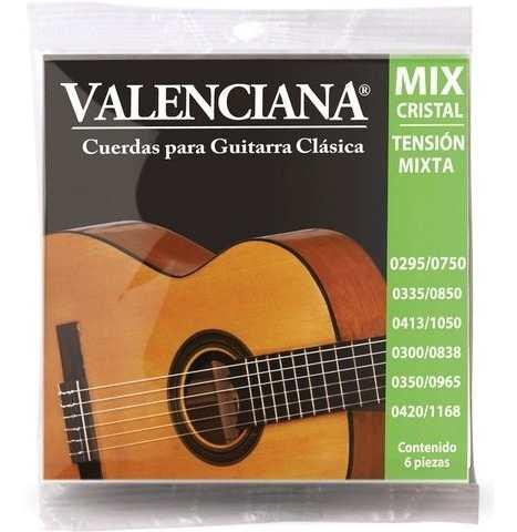 Encordado La Valenciana Guitarra Clásica Nylon Vags-420mxc