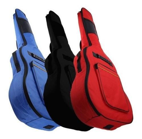 Funda Tipo Mochila Para Guitarra Acústica Envio Gratis