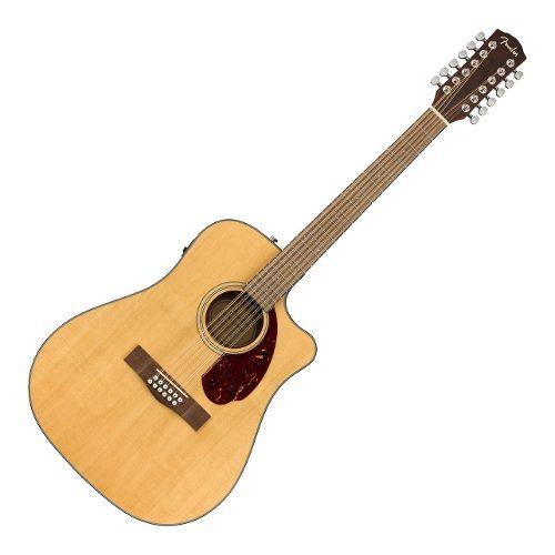 Guitarra Fender Cd-140sce-12 Dread Nat. W/case