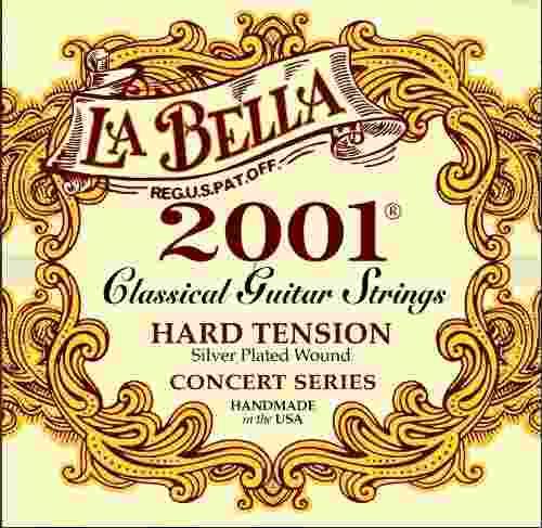 La Bella  Hard Juego De Cuerdas Para Guitarra Acústica