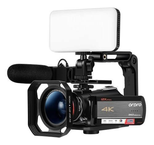 Ordro Ac5 Zoom Óptico 4k Videocámara Ultra Hd Wifi Cámara