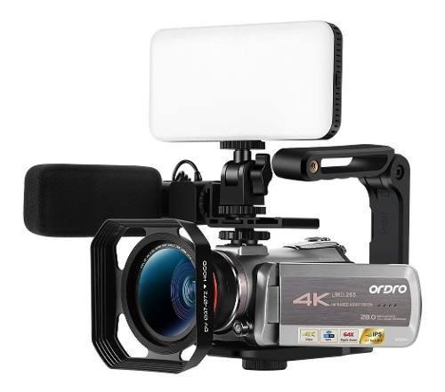 Ordro Az50 - Videocámara Digital 4k (1080p 60fps, Zoom