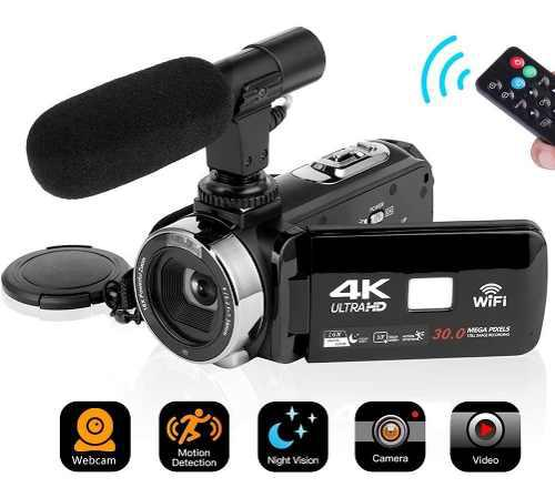 Seree Videocámara 4k 30mp Wifi Control Cámara Digital 3.0?