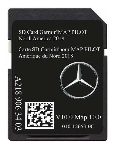 Tarjeta Gps Mercedes Benz Ultima Version Gramin Map