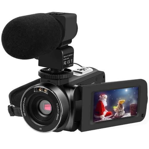 Videocamara Hd 1080p 30fps 24mp 16x Zoom 4332065484