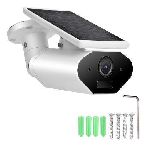 Videocámara Impermeable Wifi Con Cámara Solar 1080p Con
