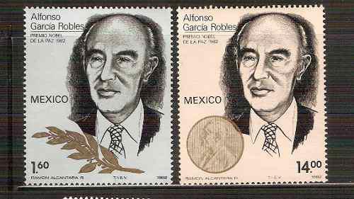 1982 Alfonso Garcìa Robles Premio Nobel De La Paz Sc