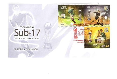 2011 Fdc Copa Mundial Sub-17 Fifa Sobre Primer Dìa