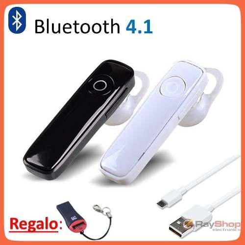 Audífono Manos Libres Bluetooth Universal Gancho Oreja