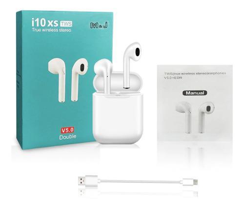 Audífonos Bluetooth Manos Libres I10 Xs Tws Pop Up AirPods