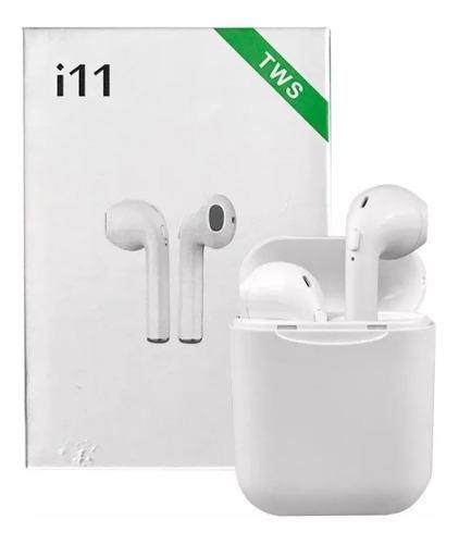 Audifonos AirPods I11 Bluetooth 5.0 Botón Carga