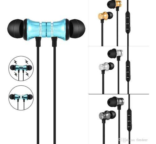 Audifonos Magneticos Manos Libres Bluetooth 4.2 Universal