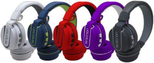 Diadema Manos Libres Bluetooth Necnon Nbh-05 Rubberized