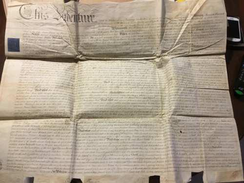 Documento Antiguo. 1810. En Ingles