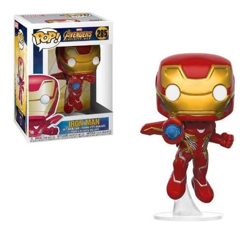 Figura Funko Iron Man Cargando Zoom #285 Original 3´´