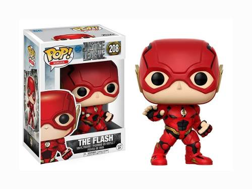 Funko Pop Flash De Dc Justice League 100% Original