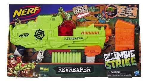 Lanzador Nerf Zombie Strike Revreaper