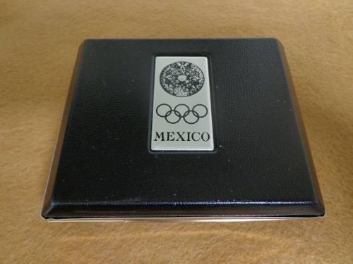 Medalla Conmemorativa Olimpiadas México 68 Plata.925