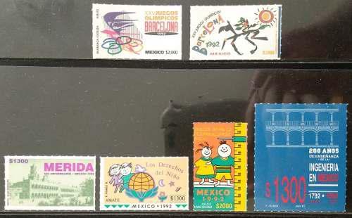 Mexico 1977 - 1996 Colección De Timbres Nuevos Ve 8 Fotos