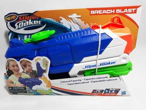 Nerf Breach Blast Super Soaker Lanza Agua
