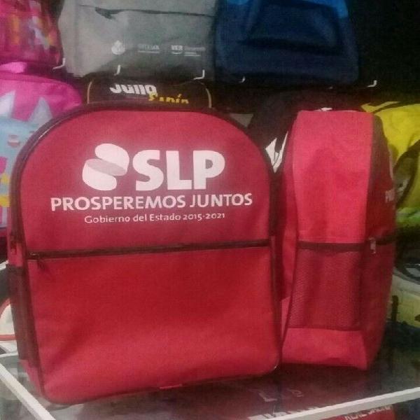 PUBLICIDAD EN MOCHILAS, LONCHERAS, LAPICERAS,