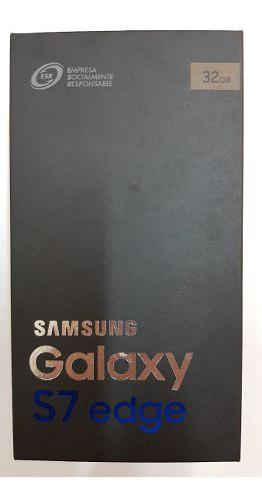 Samsung S7 Edge Dorado Usado Pantalla No Funciona