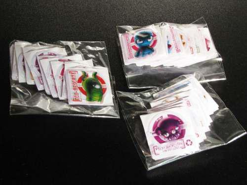 Stickers 3d De Alien Calcomanias