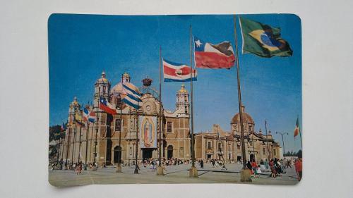Tarjeta Postal Gigante Antigua Basílica De Guadalupe