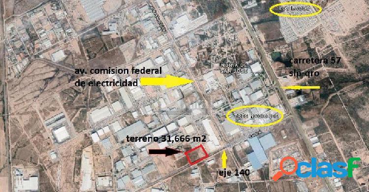 Terreno industrial en venta en Zona Industrial, San Luis