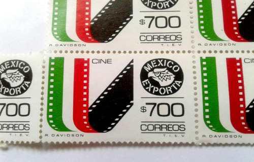 Timbres Postales México Exporta Cine