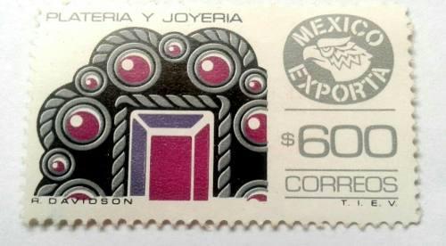 Timbres Postales México Exporta Platería Y Joyería