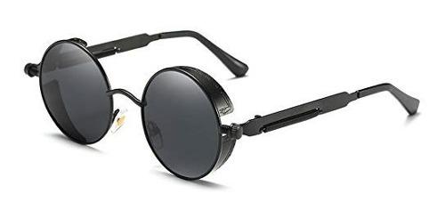 Youtato Gafas De Sol Polarizadas Reflexivas Redondas Retro