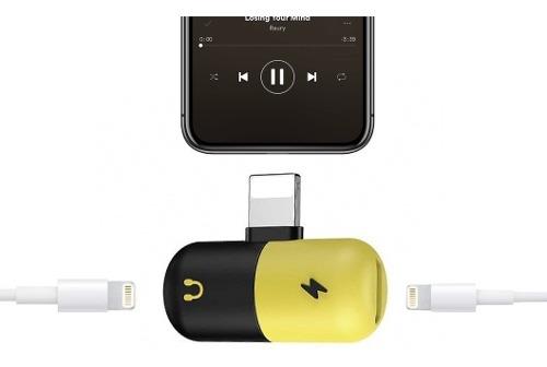 Adaptador iPhone Audífonos Lightning Auxiliar