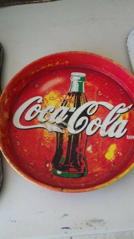 Charolas Coca cola antiguas