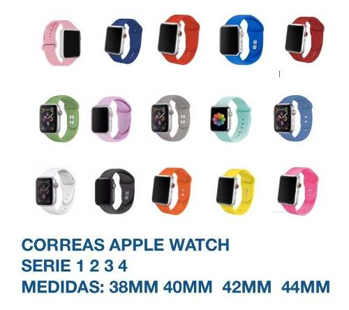 Correa Extensible Para Apple Watch 38mm Serie
