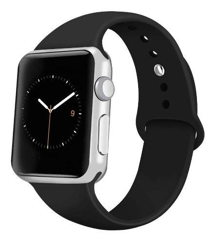Correa Extensible Silicon Para Apple Watch Series